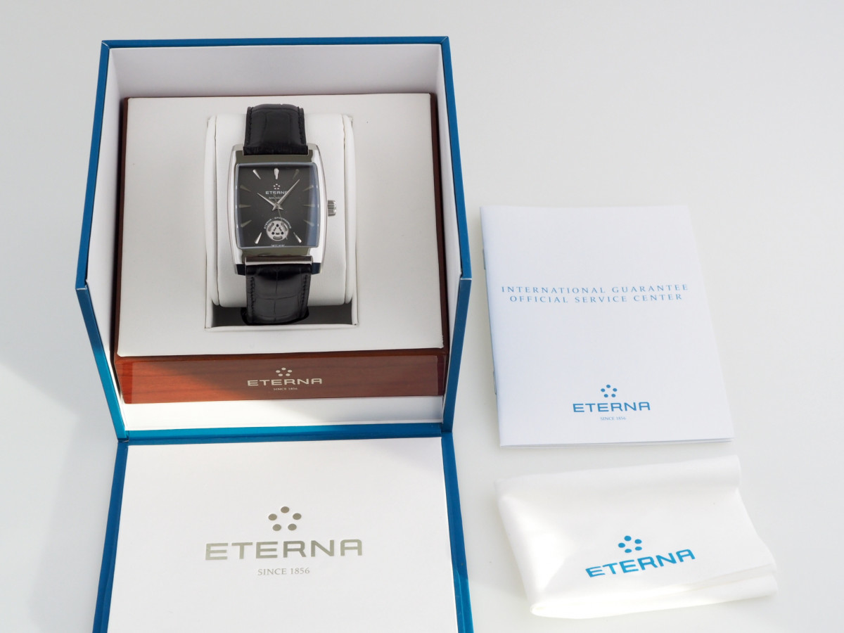 Швейцарские часы Eterna Madison Three-Hands Spherodrive