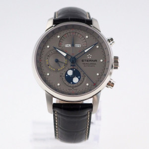 Швейцарские часы Eterna Tangaroa Moonphase Chronograph