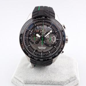 Швейцарские часы Graham Silverstone RS Skeleton Green