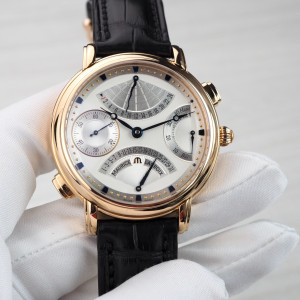 Швейцарские часы Maurice Lacroix Masterpiece Double Retrograde