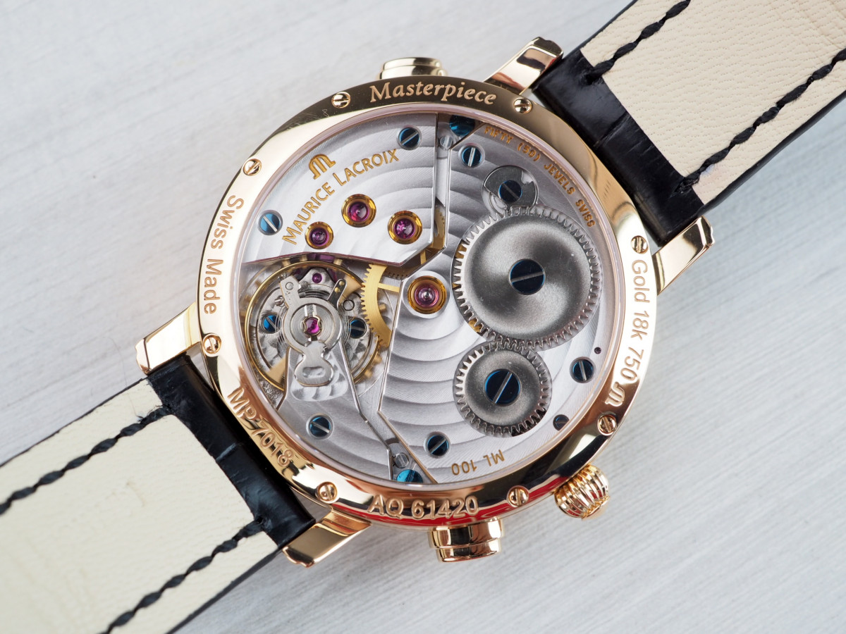 Швейцарские часы Maurice Lacroix Masterpiece Double Retrograde