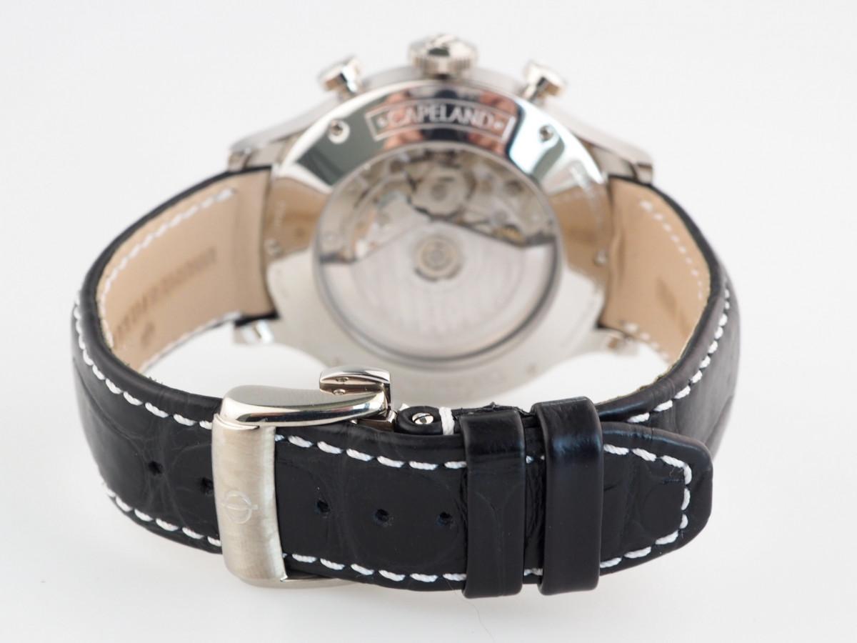 Швейцарские часы Baume & Mercier Capeland Chronograph Blue Dial