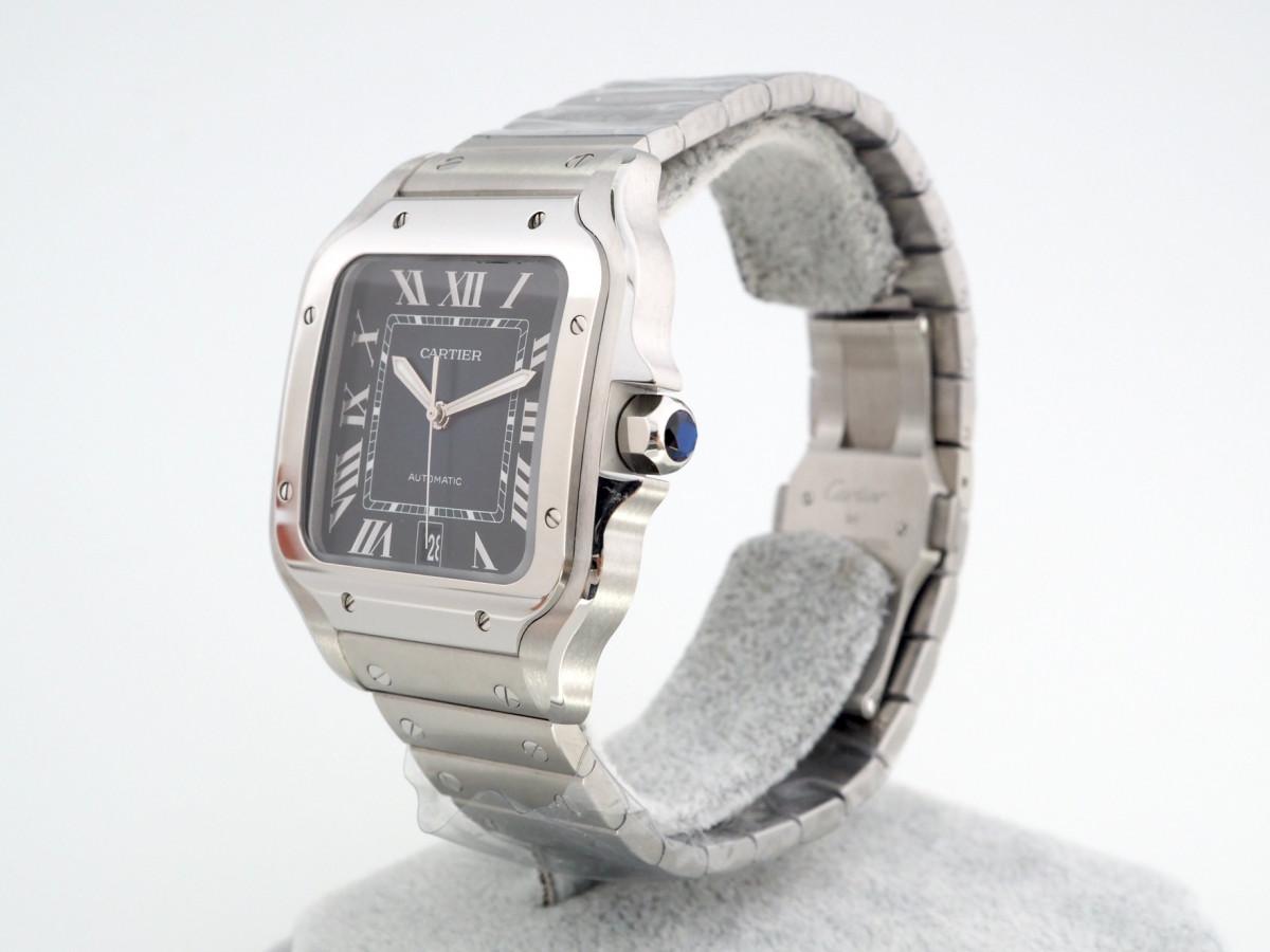 Швейцарские часы Cartier Santos De Cartier Blue