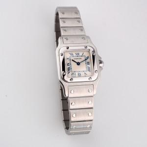 Швейцарские часы Cartier Santos De Cartier Galbee
