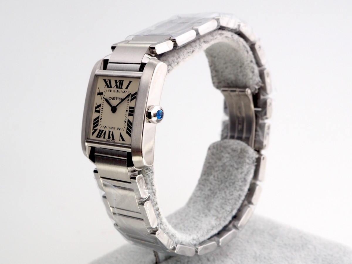 Швейцарские часы Cartier Tank Francaise Silver Dial