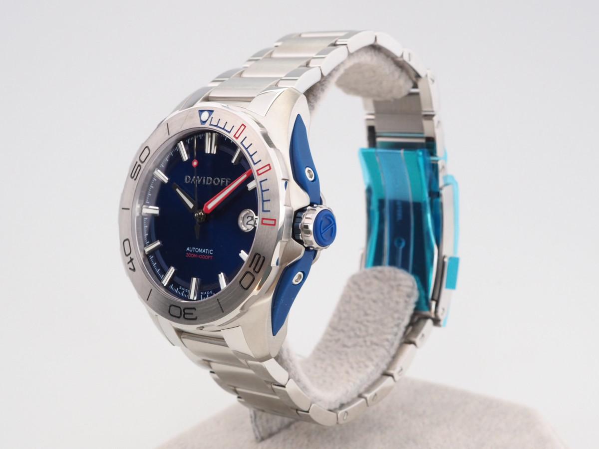Швейцарские часы Davidoff Velocity Diver Blue Dial