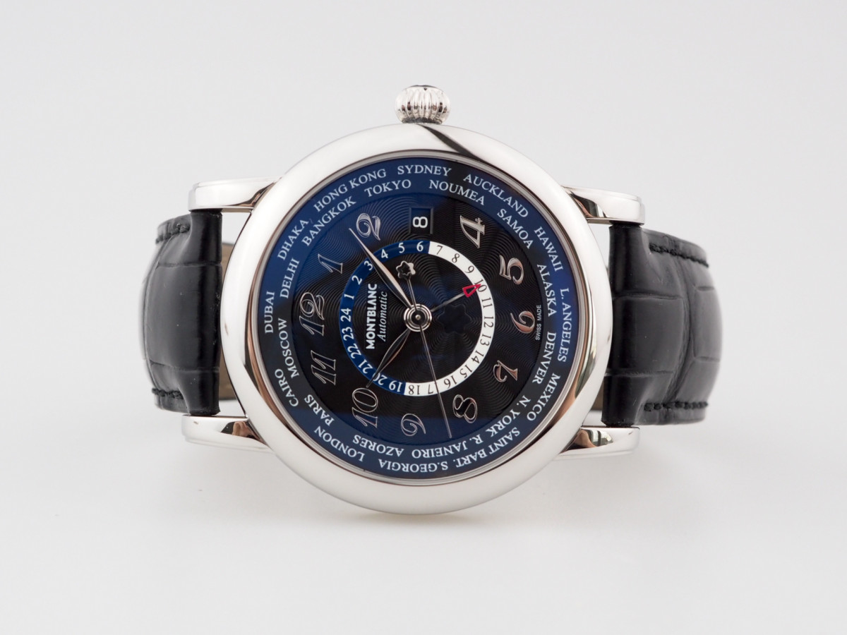 Швейцарские часы Montblanc Star World Time GMT Automatic
