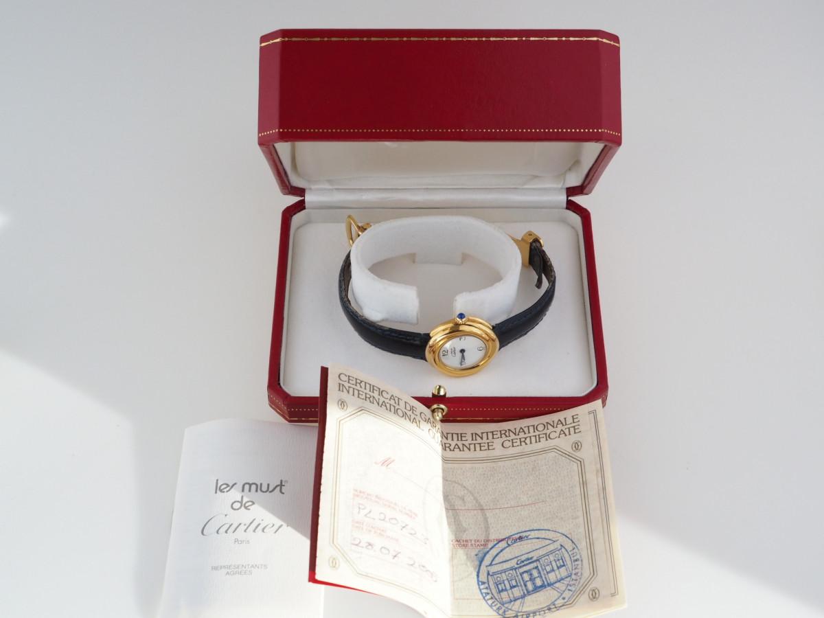 Швейцарские часы Cartier Trinity
