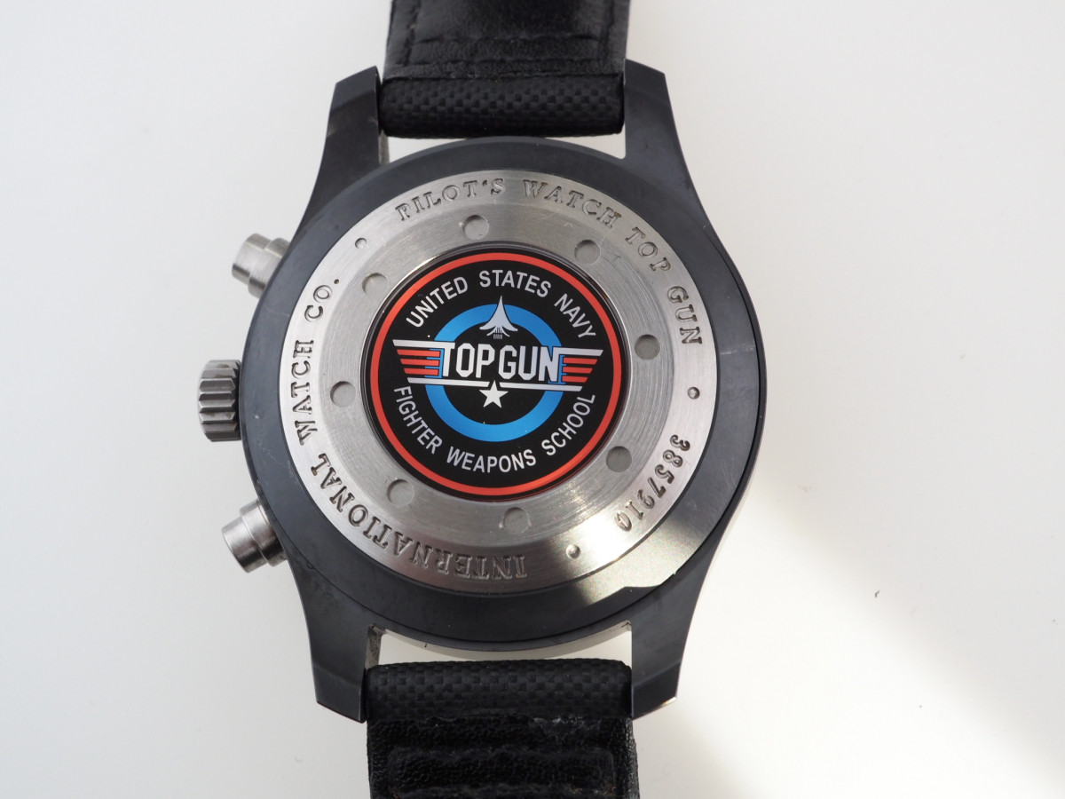 Швейцарские часы IWC Pilot Top Gun Ceramic Chronograph