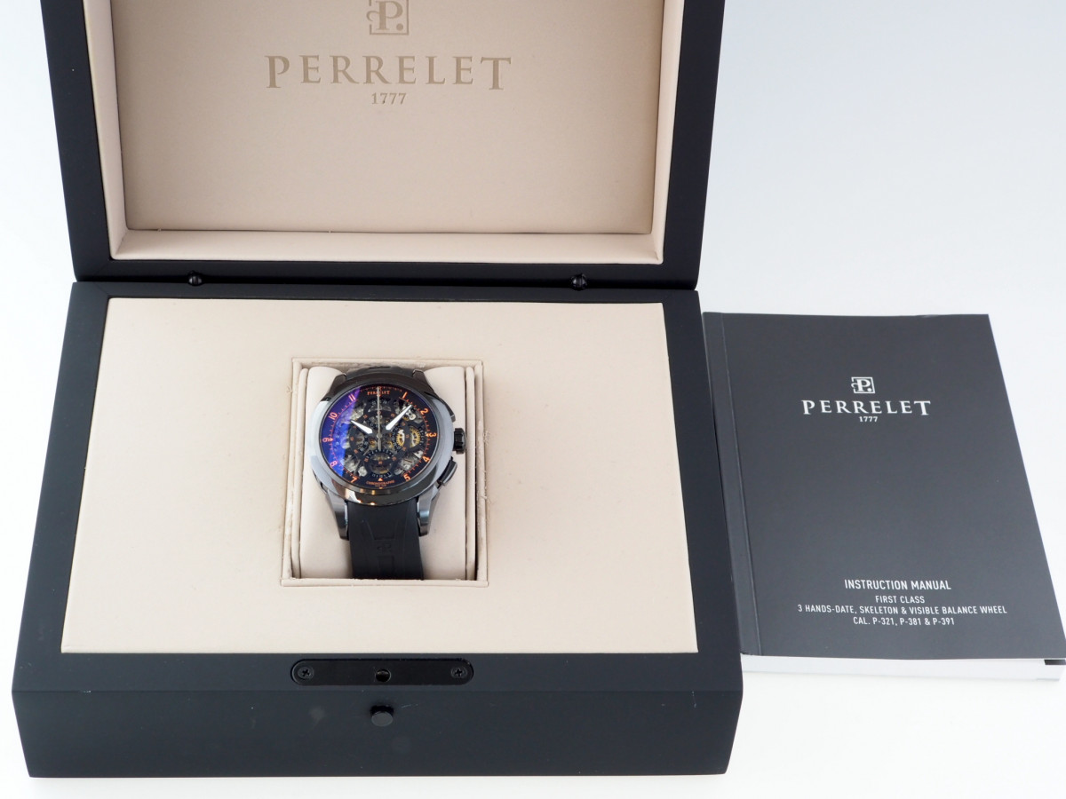 Швейцарские часы Perrelet Skeleton Chronograph