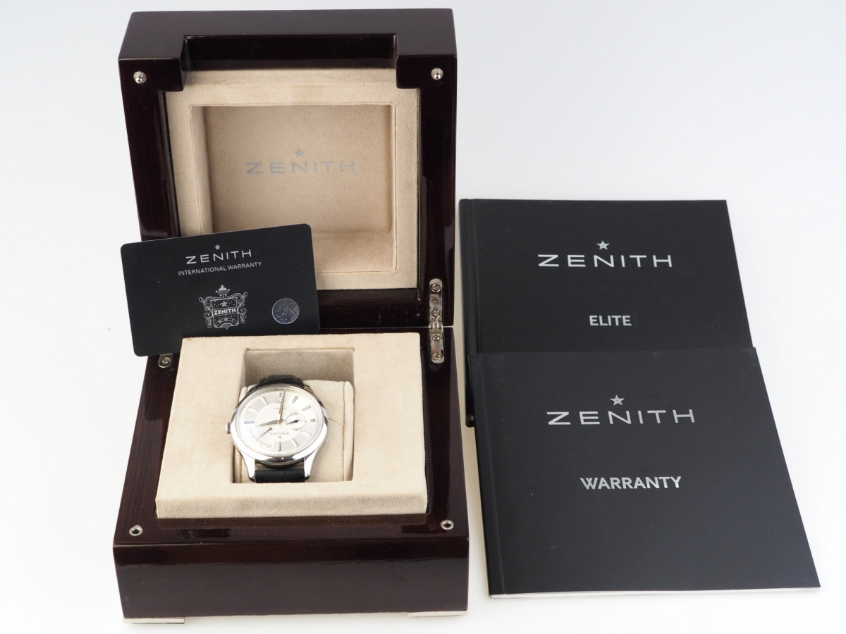 Швейцарские часы Zenith Captain Power Reserve