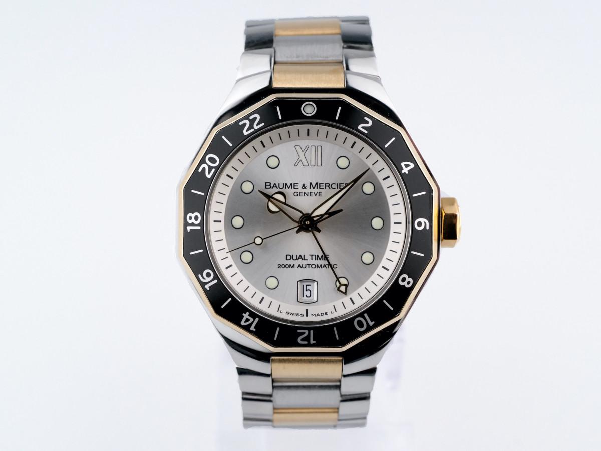 Швейцарские часы Baume & Mercier Riviera Sport Dual Time