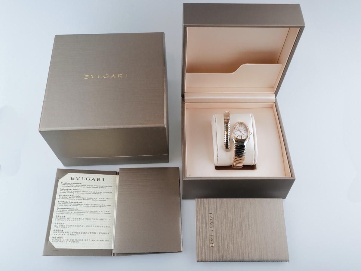 Швейцарские часы Bulgari Serpenti Turbogas