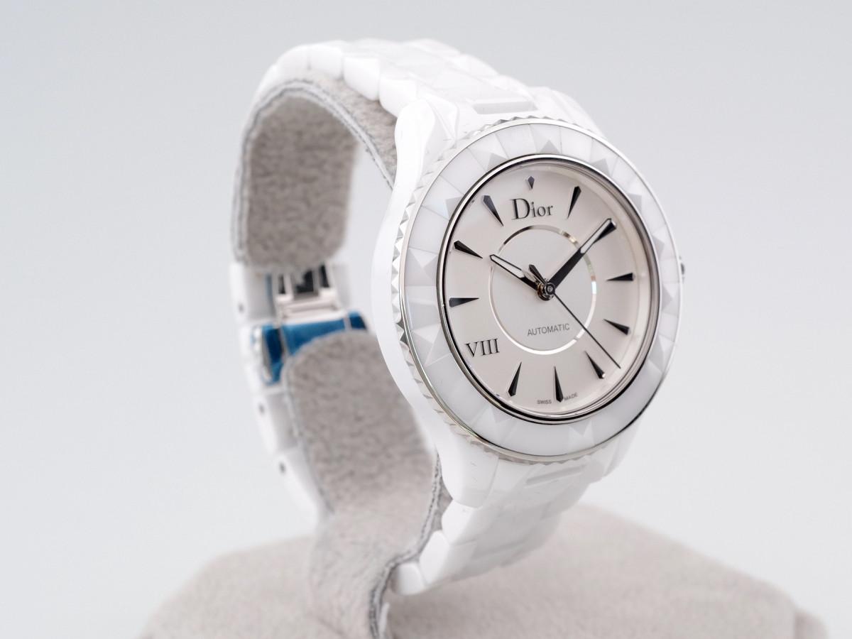 Швейцарские часы Dior VIII White Ceramic Automatic