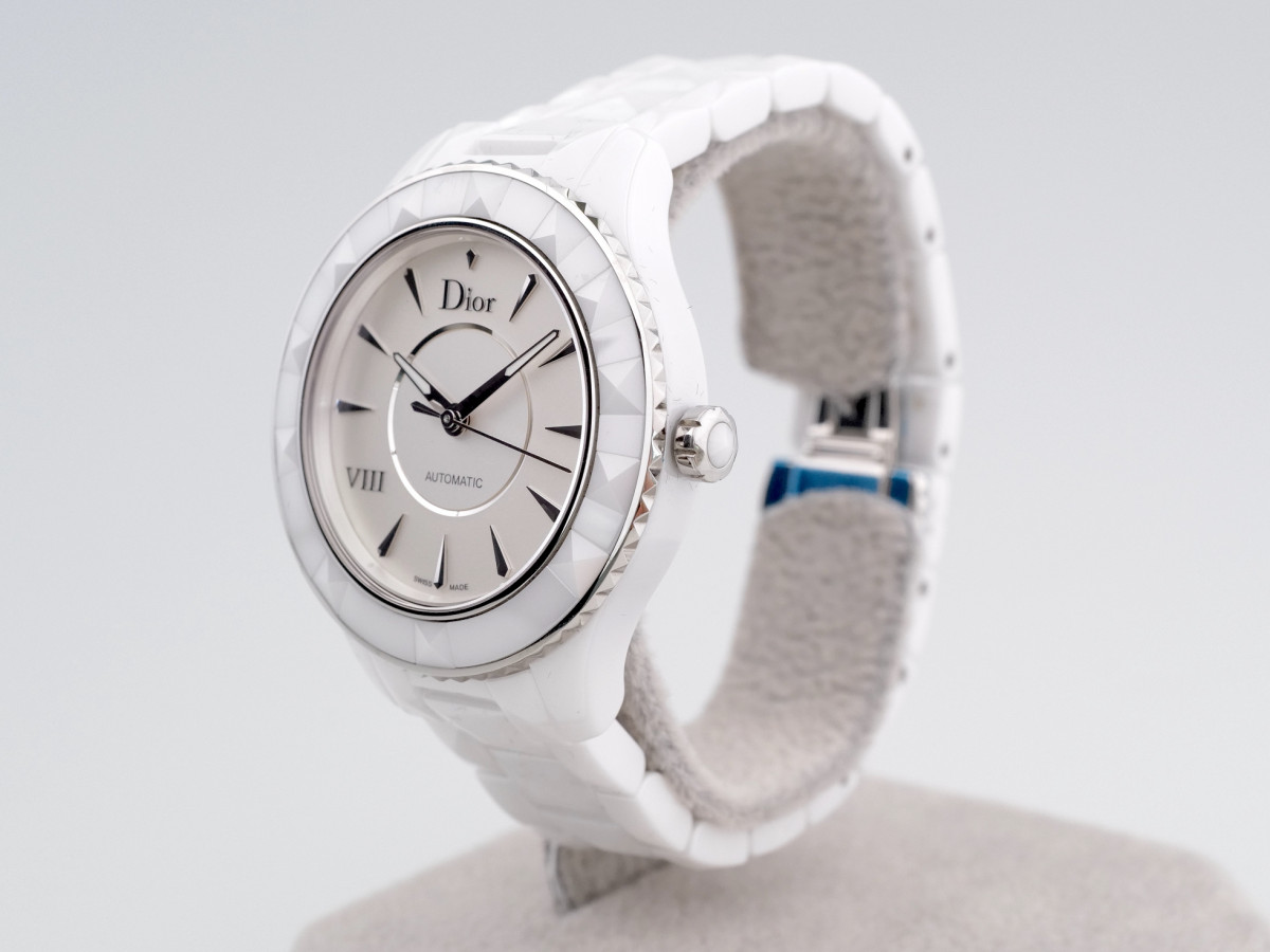 Швейцарские часы Dior VIII White Ceramic Automatic