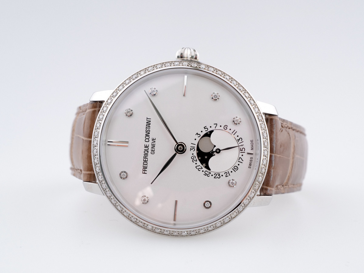 Швейцарские часы Frederique Constant Manufacture Slimline Moonphase