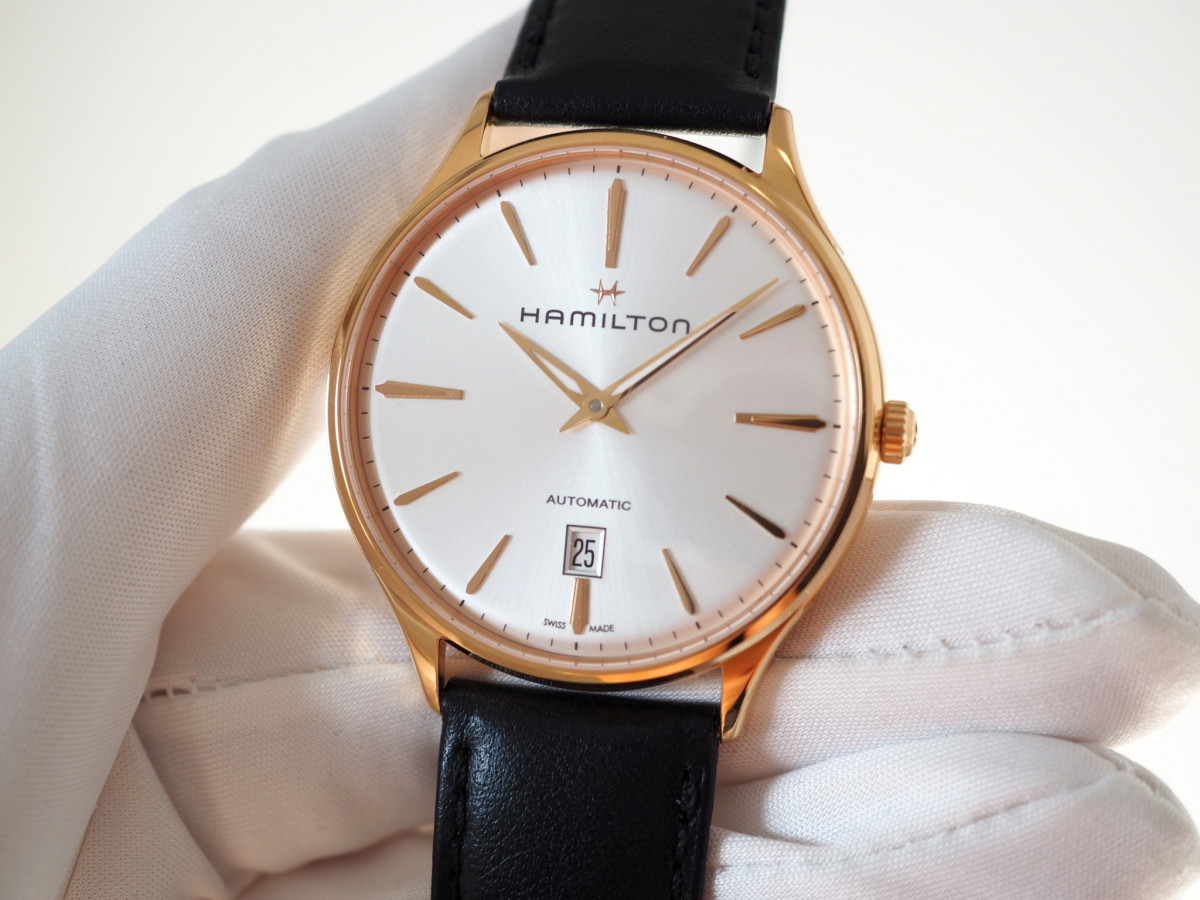 Швейцарские часы Hamilton Jazzmaster Thinline Gold Limited 1892