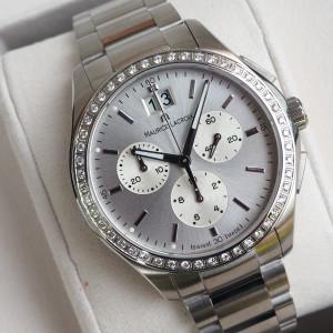 Швейцарские часы Maurice Lacroix Miros Diamond Chronograph