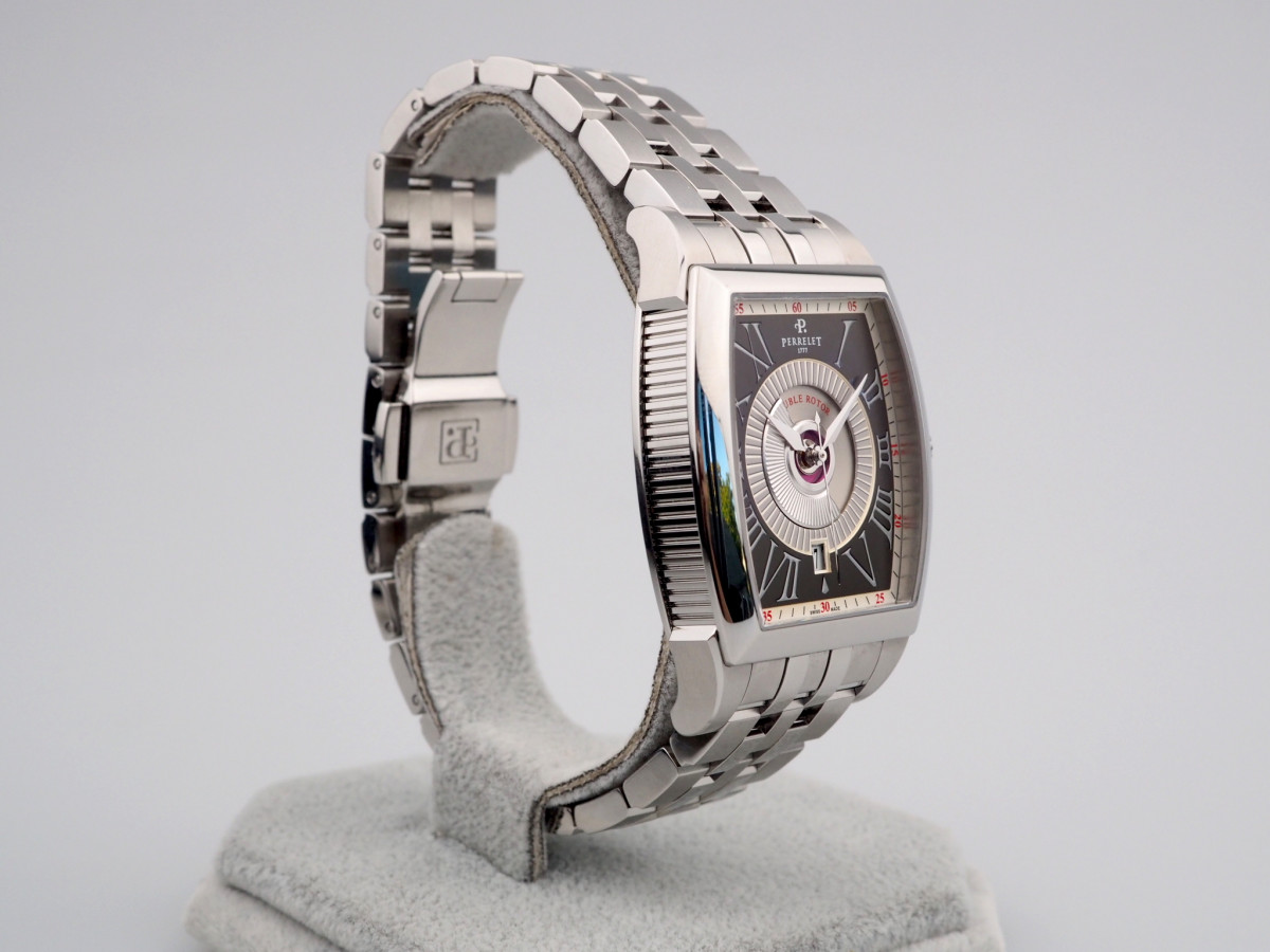 Швейцарские часы Perrelet Double Rotor Tonneau