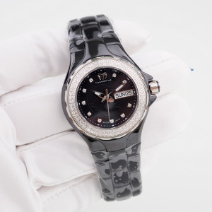 Швейцарские часы TechnoMarine Cruise Black Ceramic Diamonds