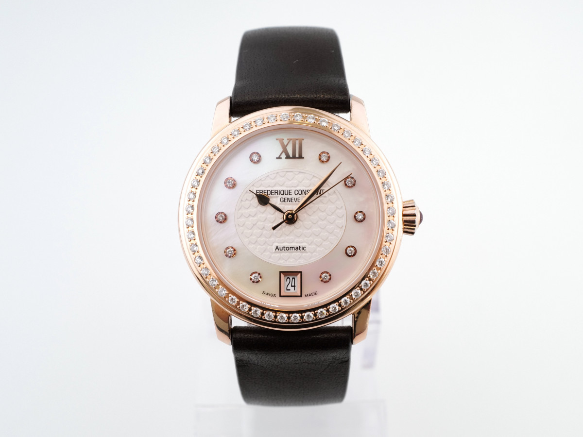 Швейцарские часы Frederique Constant Mother of Pearl Ladies