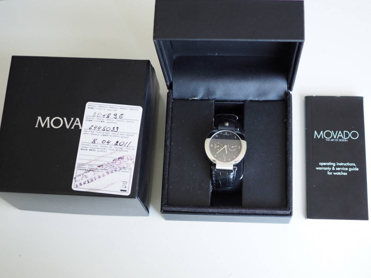 Швейцарские часы Movado Elliptica Power Reserve GMT