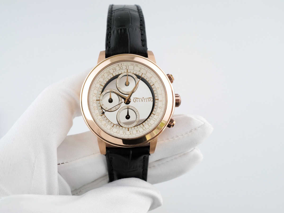 Швейцарские часы Quinting Mysterious Chronograph