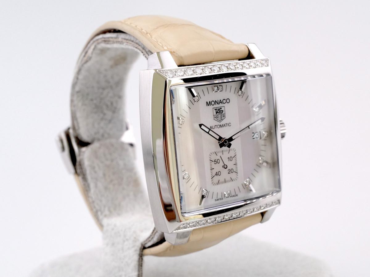 Швейцарские часы TAG Heuer Monaco Diamonds