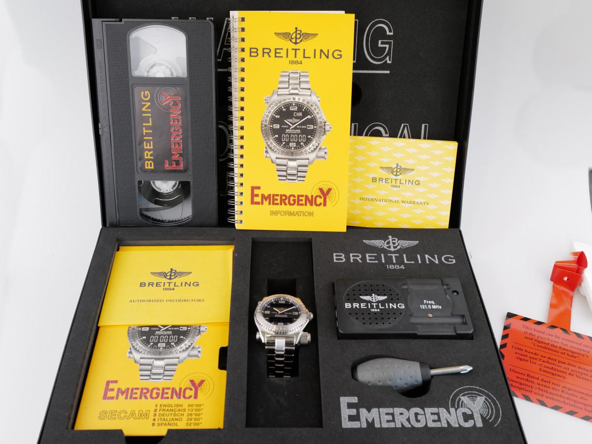 Швейцарские часы Breitling Emergency Aviator Chronometer