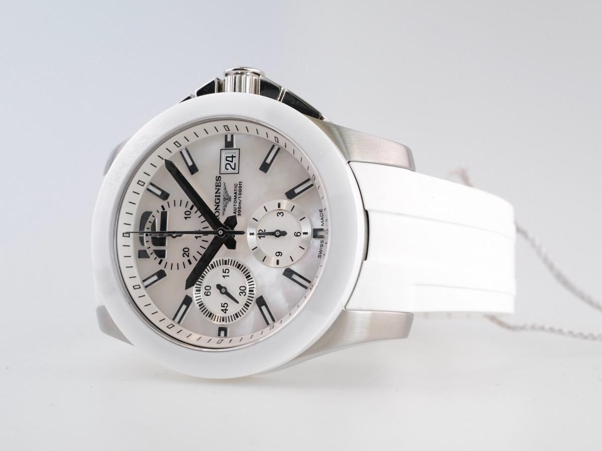 Швейцарские часы Longines Conquest Chronograph