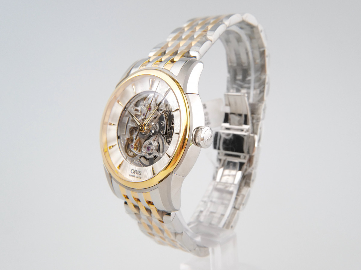 Швейцарские часы Oris Artelier Skeleton