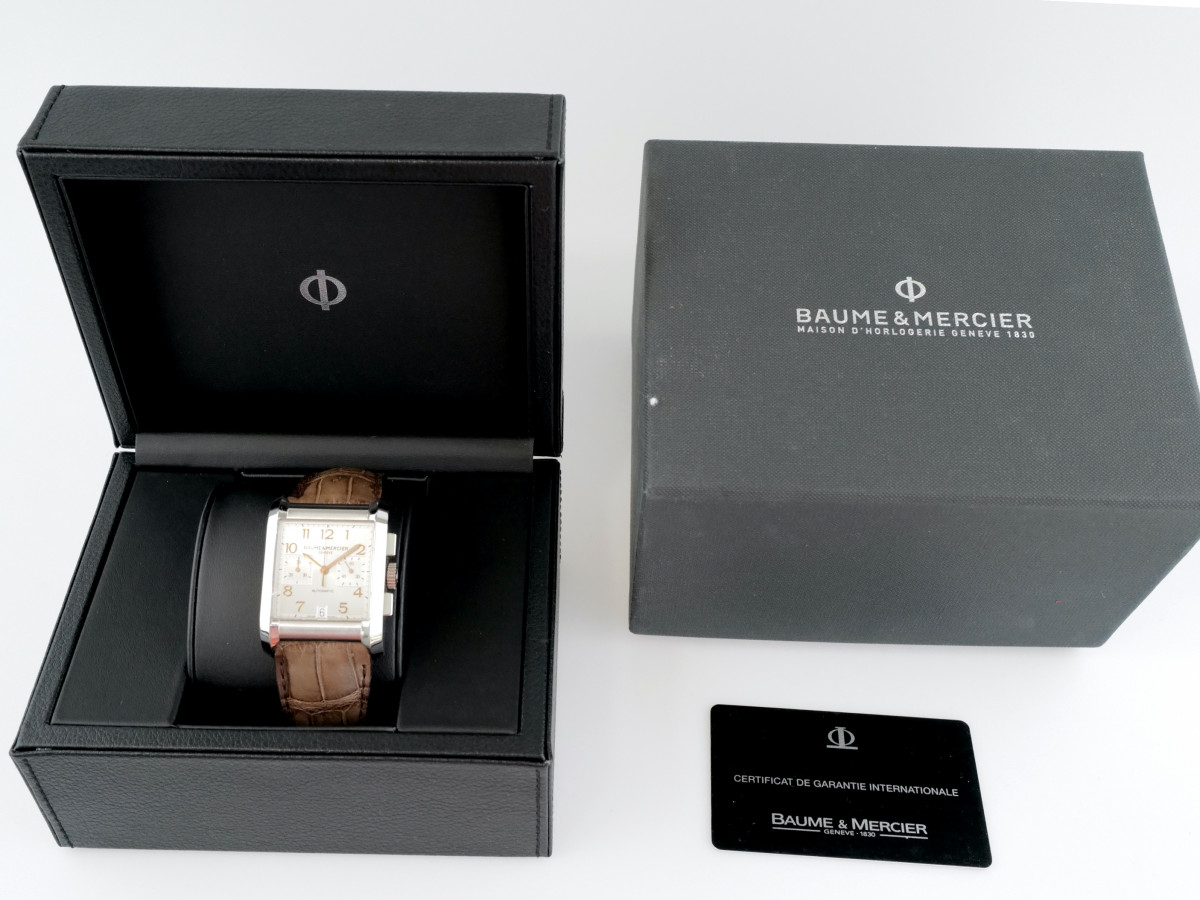 Швейцарские часы Baume & Mercier Hampton Chronograph