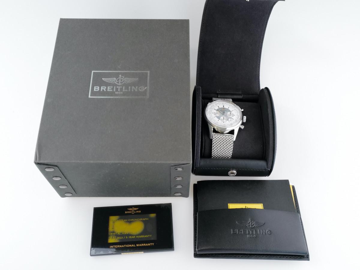 Швейцарские часы Breitling Transocean Chronograph Unitime