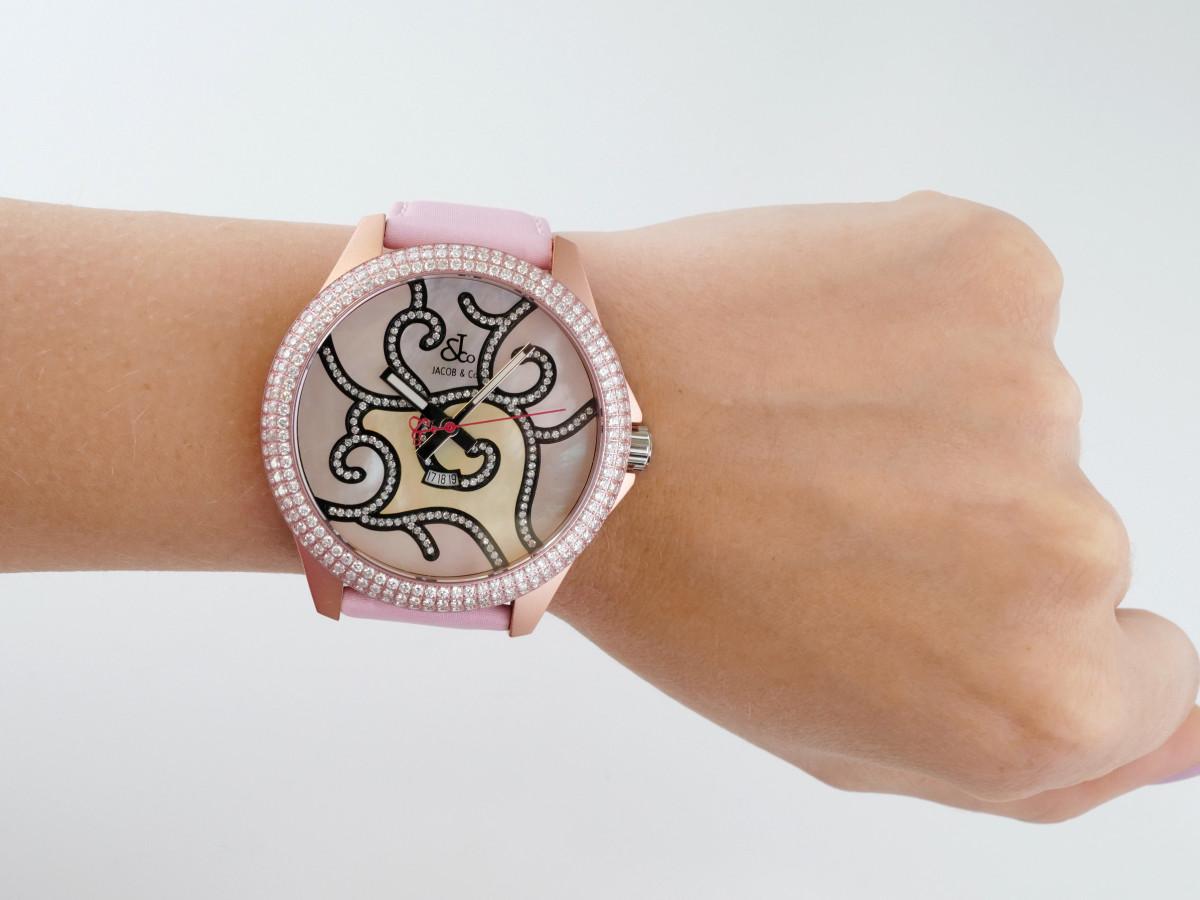 Швейцарские часы Jacob & Co One Time Zone