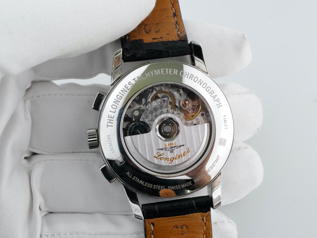 Швейцарские часы Longines Heritage Tachymeter Chronograph