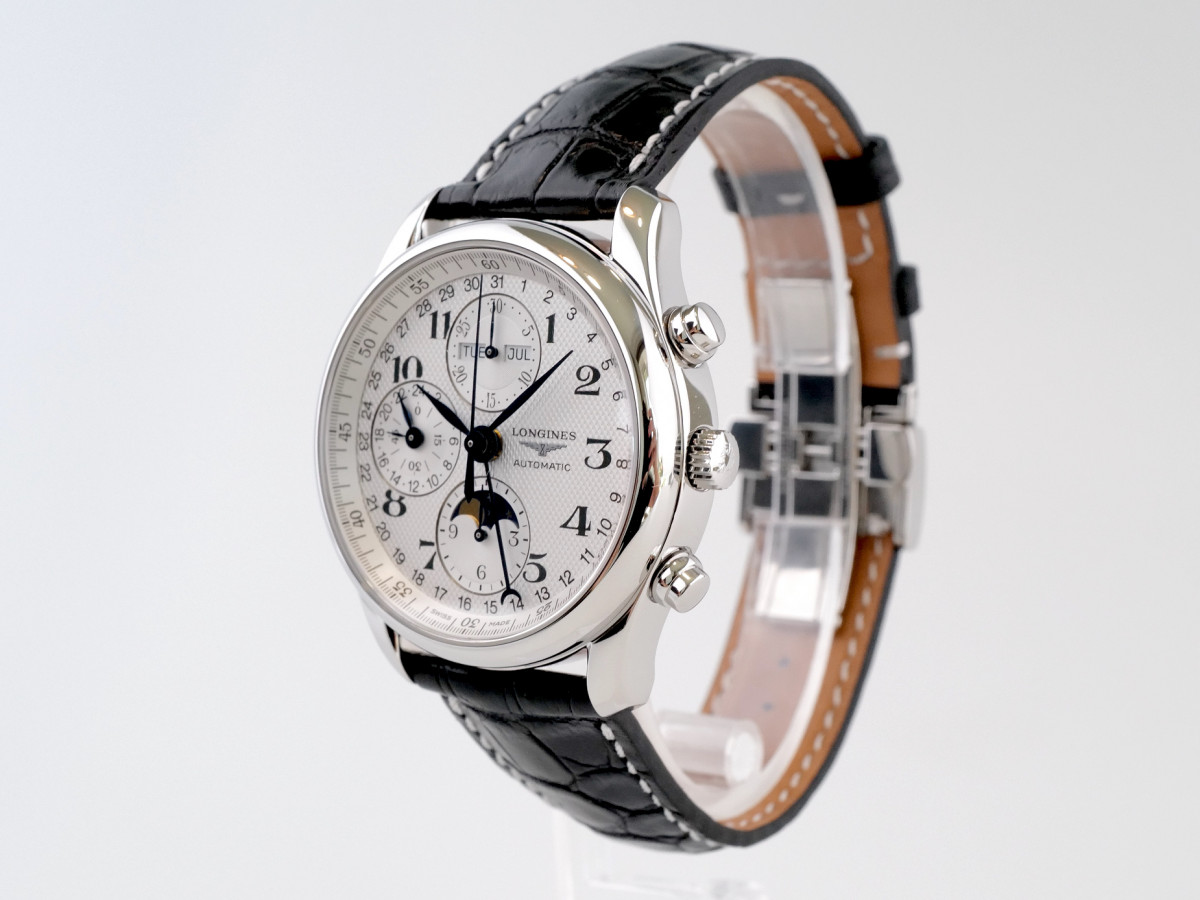 Швейцарские часы Longines Master Collection Moonphase Chronograph