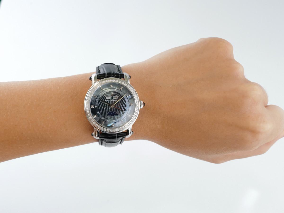 Швейцарские часы Maurice Lacroix Masterpiece Phase De Lune