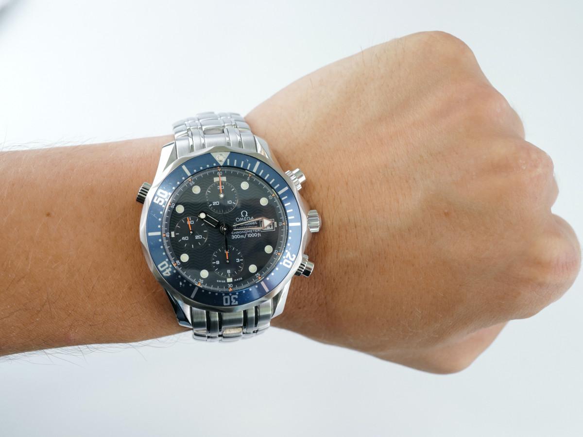 Швейцарские часы Omega Seamaster Chronograph