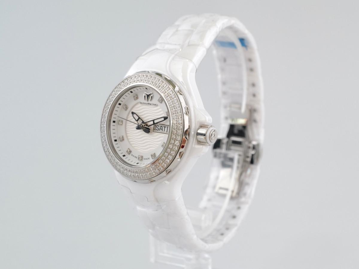 Швейцарские часы TechnoMarine Cruise Ceramic Diamonds