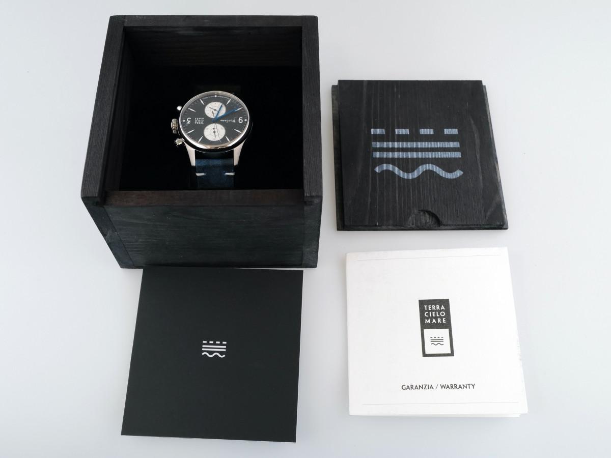 Швейцарские часы Terra Cielo Mare Milano Crono Panda Dial