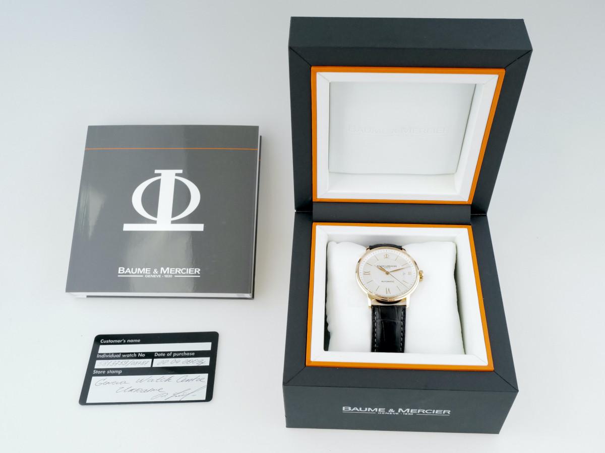 Швейцарские часы Baume & Mercier Classima Executives
