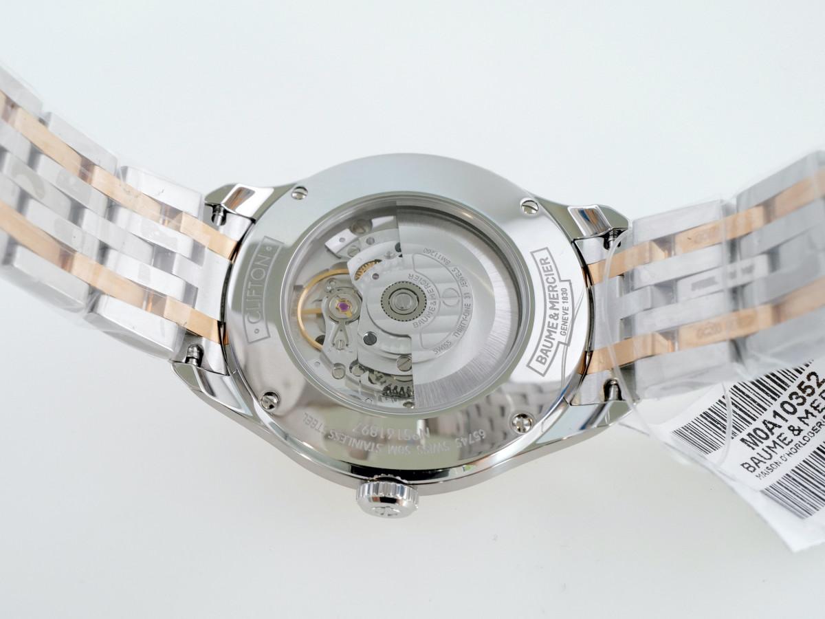 Швейцарские часы Baume & Mercier Clifton Gold Dial