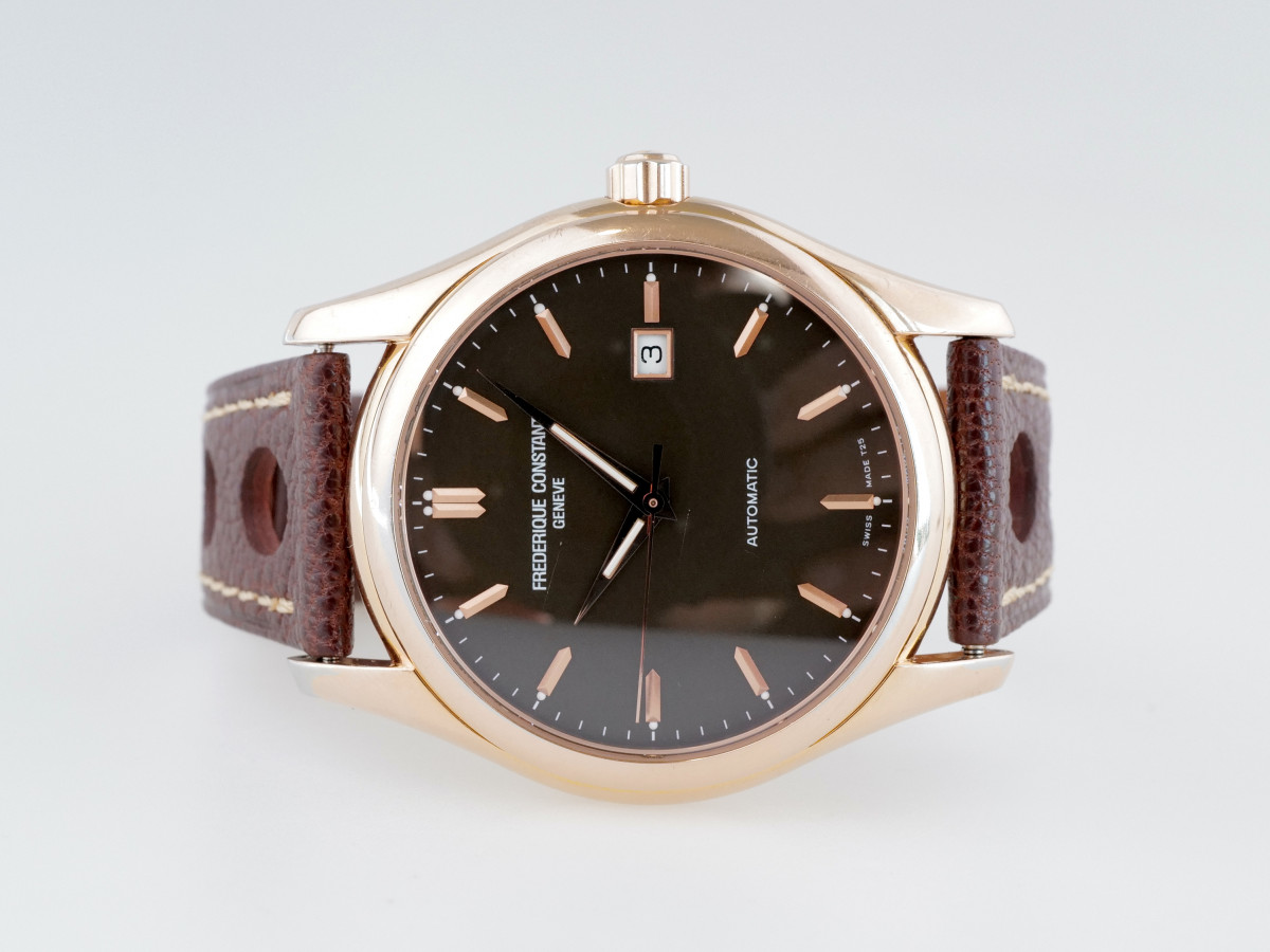 Швейцарские часы Frederique Constant Clear Vision Brown Dial