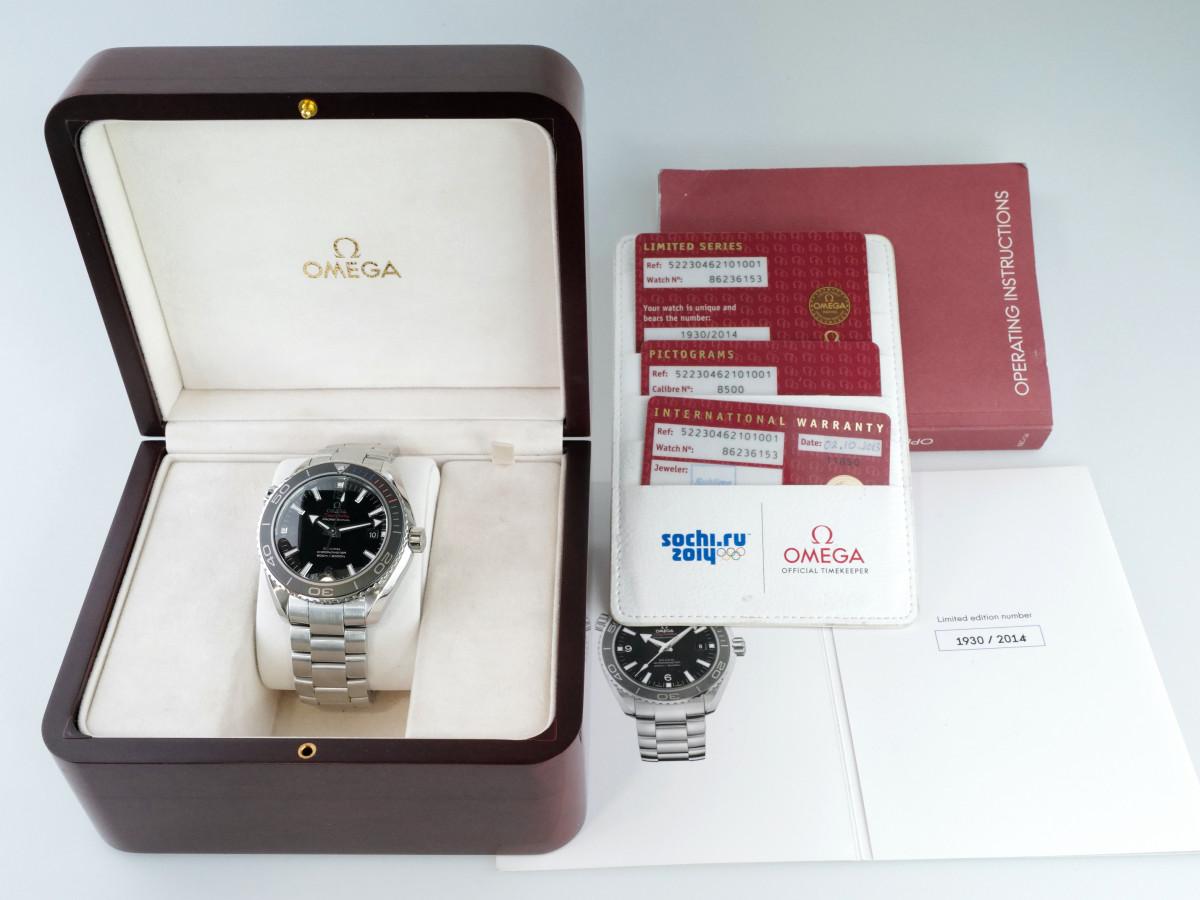 Швейцарские часы Omega Planet Ocean Olympic Sochi