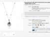 Швейцарские часы Pasquale Bruni 18K White Gold Diamond and Agate Necklace