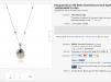 Швейцарские часы Pasquale Bruni 18K White Gold Diamond and Agate Necklace