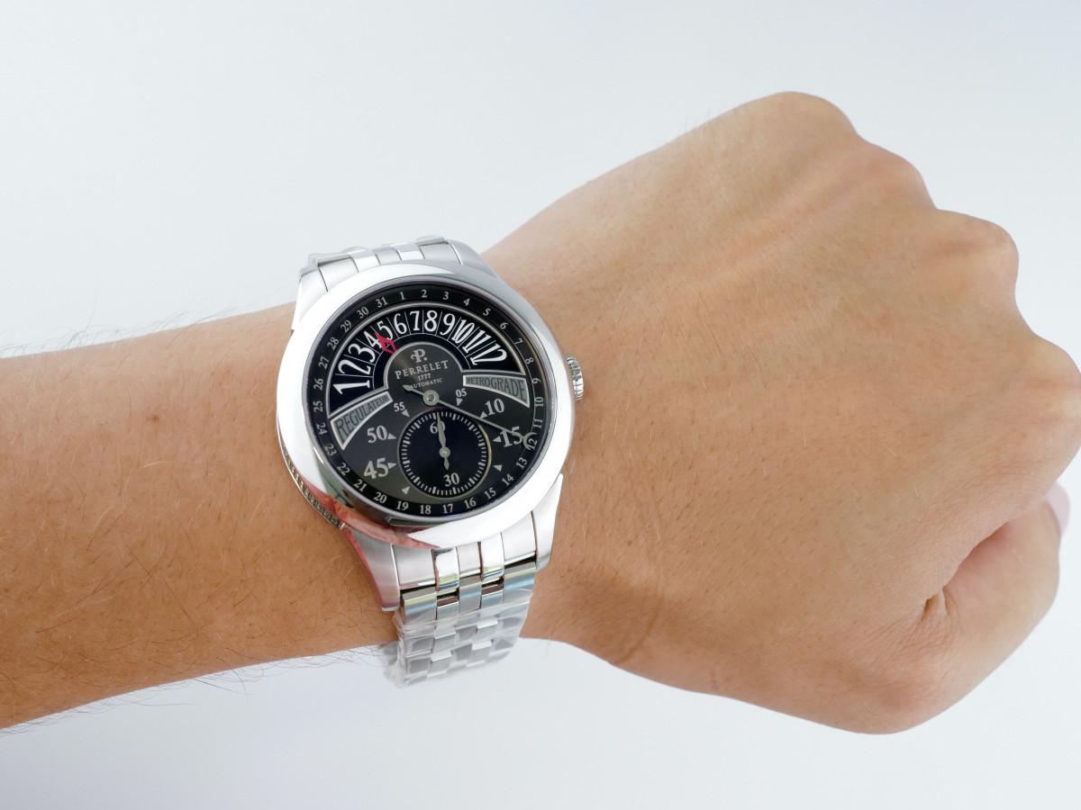 Швейцарские часы Perrelet Specialties Regulator Retrograde
