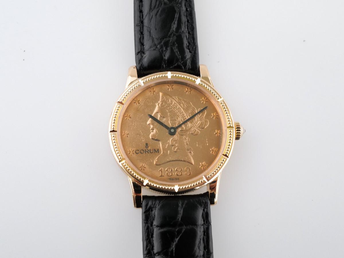 Швейцарские часы Corum 10 Dollar Coin 1883