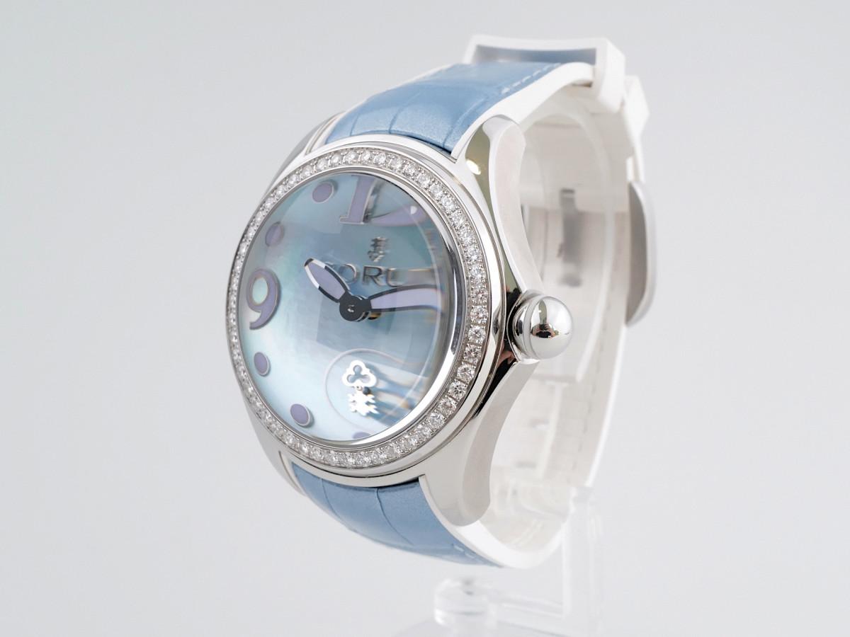 Швейцарские часы Corum Bubble Diamond Blue