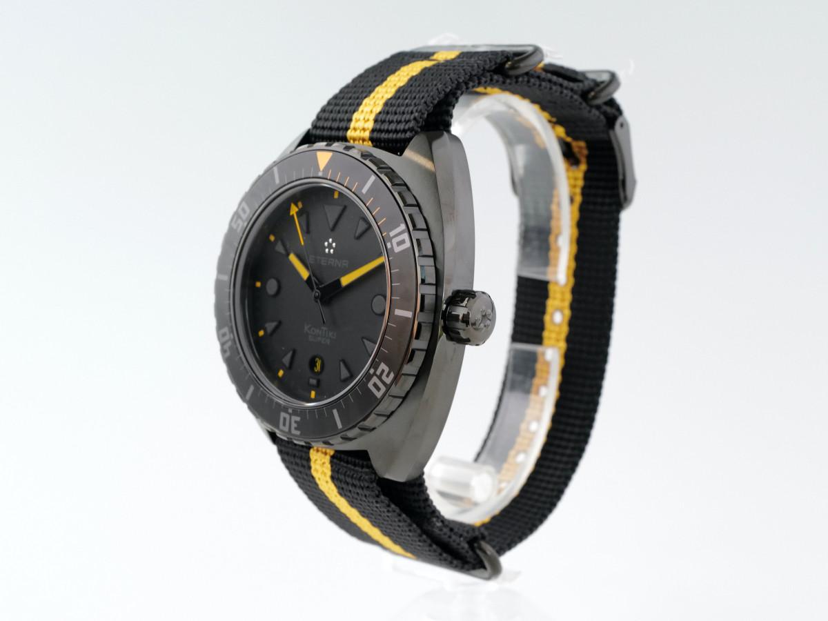 Швейцарские часы Eterna Super Kontiki Black Limited Edition